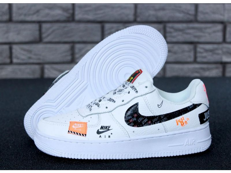 55f90972 Кроссовки Nike Air Force 1 Low Just Do It Pack White купить недорого ...