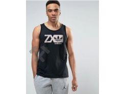 Мужская майка Adidas Originals ZX черного цвета XL