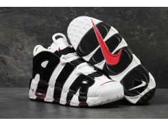 Мужские кроссовки Nike Air More Uptempo White Black