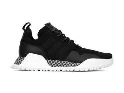 Кроссовки Adidas AF Primeknit Black White