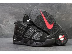 Кроссовки Nike Air More Uptempo 96 Black Suede