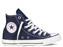 Кеды Converse All Star High синего цвета