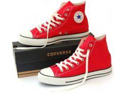 Женские кеды Converse All Star красные