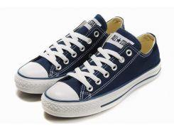 Женские кеды Converse All Star низкие синие