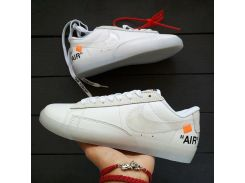 Кроссовки Nike Air Force Blazed Mid White