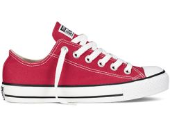 Кеды Converse All Star Low Viano в бордовом цвете