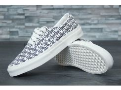 Кеды Vans Authentic White Fear 44
