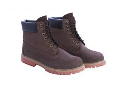 Мужские ботинки Timberland коричневого цвета 44
