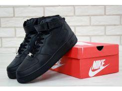 Женские кроссовки Nike Air Force 1 High Черные