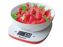 Весы кухонные 5кг ViLgrand VKS-517_white