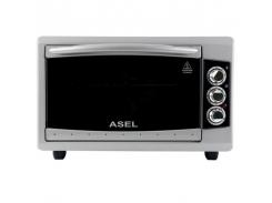 """Тостер-печь """"Асель"""" 38 л, таймер, Гриль Asel AF-0524 серая"""