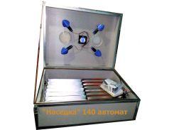 Инкубатор «Наседка ИБА-140» с автоматическим переворотом яиц и вентилятором