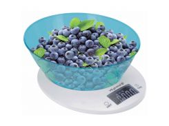 Весы кухонные 5кг ViLgrand VKS-533С_blue