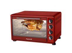 Печь электрическая 48 л; 2 кВт, конвекция, гриль, свет ViLgrand VEO484RCL /красная/
