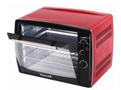 Печь электрическая 65 л 2,2 кВт (конвекция, вертел) VILGRAND VEO650-18_RED