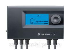Контроллер EUROSTER 11M для управления трехходового клапана с сервоприводом и насосом Ц.О.
