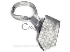 Галстук Fifty Shades of Grey Christian Grey's Tie серебристый