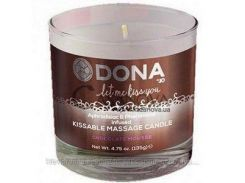 Массажная свеча Dona Kissable Massage Candle шоколад