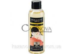 Съедобное масло для тела Shiatsu Luxury ваниль