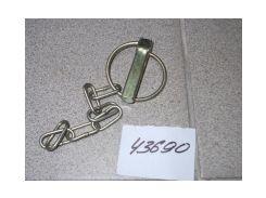 Чека задней навески (с кольцом и цепочкой) СБ А61.05.100-01