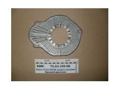 Плита кожуха маховика(под стартер) ПД-10 75.24.109-05