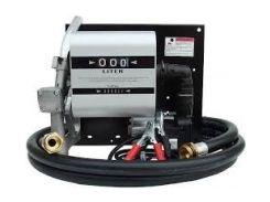 Топливораздаточная колонка заправки дизельного топлива с расходомером WALL TECH 40, 220В, 40 л