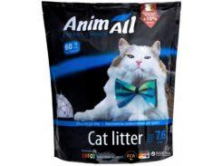 Наполнитель туалетов для кошек AnimAll силикагель Голубой аквамарин 3.2 л