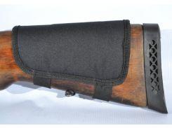 Патронташ на приклад на 10 патронов (7,62 нарезные) синтетический черный