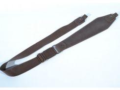 Ремень для ружья трапеция №2 кожа Ретро коричневый