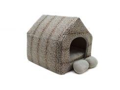 Домик для котов и собак Зима