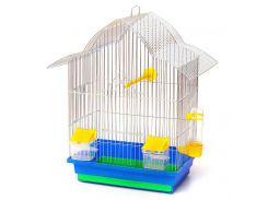 Клетка для попугая Мальва 330х230х450 цинк