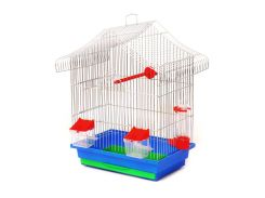 Клетка для птиц Шанхай   (330х230х400) цинк