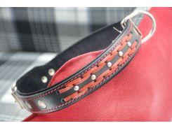 Ошейник для собак кожаный vip 6