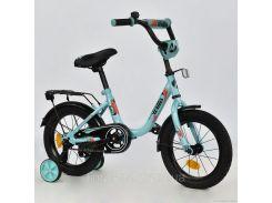 """Велосипед 2-х колёсный R 1413 """"WILLIS"""" (1) без ручного тормоза, доп. колеса, СОБРАННЫЙ НА 75% в коробке"""