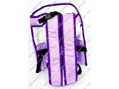 Гр Рюкзак-кенгуру №6 (1) сидя, цвет фиолетовый. Предназначен для детей с трехмесячного возраста