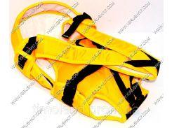 Гр Рюкзак-кенгуру №8 (1) лёжа, цвет жёлтый.Предназначен для детей с двухмесячного возраста