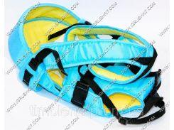 Гр Рюкзак-кенгуру №8 (1) лёжа,цвет бирюзовый.Предназначен для детей с двухмесячного возраста