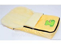 Гр Конверт на овчине 602 (1) цвет желтый