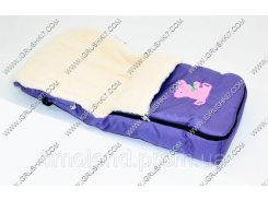 Гр Конверт на овчине 718 (1) цвет фиолетовый