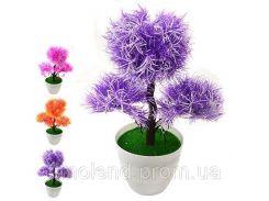 Искусственные цветы в горшке 27см