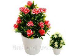 Искусственные цветы в горшке 7.5*5см
