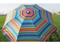 Umbrella 220 cm (6) super Пляжный зонт С наклоном и напылением!!!!!