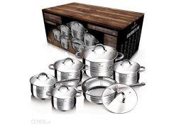 Набор посуды из нержавеющей стали Blaumann Gourmet Line BL 1410 (12 пр.)