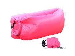 Надувной диван Lamzac (Ламзак) - Розовый №8