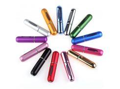 Флакон емкость атомайзер для духов (золото, фиолетовый, черный, красный, розовый, синий)