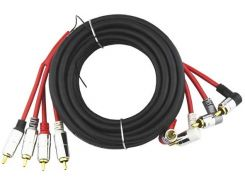 Межблочный кабель 4RCA URAL 4RCA-PT5M