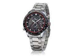 Часы наручные мужские CURREN 8149 Red  Silver с датой M059