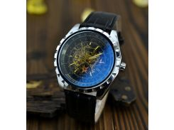 Часы наручные мужские JARAGAR скелетон Black M61