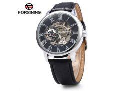 Часы наручные мужские FORSINING Silver mod90 скелетон