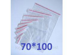 Пакет Ziplock 70x100
